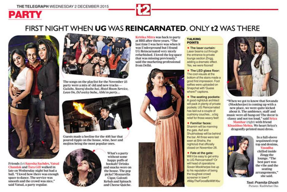 UG Reincarnated featured on Femina