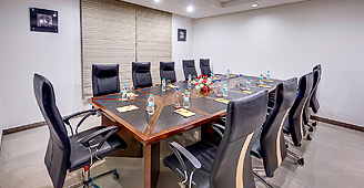 Business Centre at Star Hotel in Bangalore