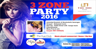 3 ZONE PARTY 2016